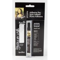 Mona Lisa Adhesive Pen & Silver Simple Leaf Kit