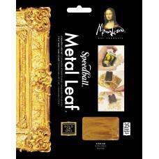 Mona Lisa Composition Gold Leaf