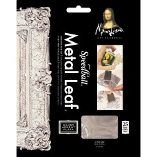 Mona Lisa Composition Silver Leaf