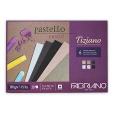 Tiziano Brizzati Flecked Colours - 6 pack 160gsm A4