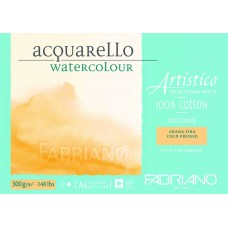 Artistico Aquarello 300gsm Cold Pressed Watercolour Pad - A4