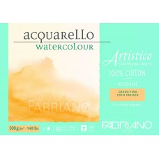 Artistico Aquarello 300gsm Cold Pressed Watercolour Pad - A3