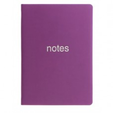Letts Dazzle A5 Notebook - Purple