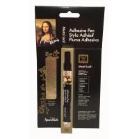 Mona Lisa Adhesive Pen & Gold Simple Leaf Kit