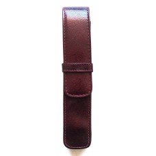 1 Pen Top Flap Case, Oxblood