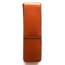 2 Pen Magnetic Flap Case, Tan