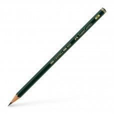 Castell 9000 Artist Grade Blacklead Pencil - 3B