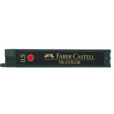 Faber-Castell 0.5mm Red Pencil Leads