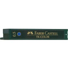 Faber-Castell 0.5mm Blue Pencil Leads