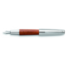 E-motion Brown Pearwood Fountain Pen