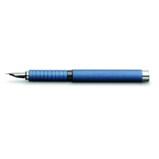 Essentio Aluminium Blue Fountain Pen