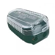 Lead sharpener with waste box