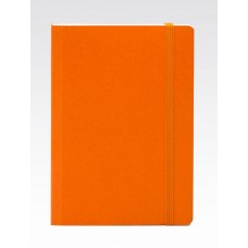 EcoQua A6 Orange Dotted Notebook