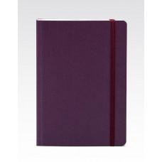 EcoQua A5 Bound Wine Blank Notebook