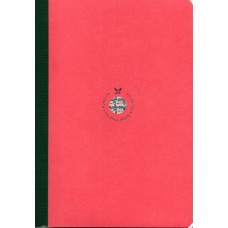 Smartbook Notebook - Large Ruled Pink/Green