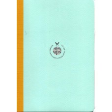 Smartbook Notebook - Large Ruled Mint/Yellow