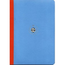 Smartbook Notebook - Large Ruled Blue/Orange