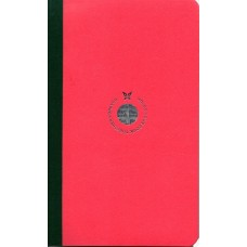 Smartbook Notebook - Medium Ruled Pink/Green