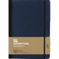 Adventure Notebook - Large Ruled Royal Blue