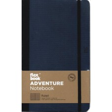 Adventure Notebook - Medium Ruled Royal Blue