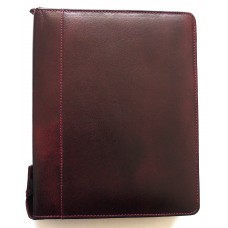 24 Pen Case, Oxblood