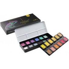 24-Colour Pearlescent Colourful Set