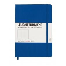 Medium Dotted Royal  Blue Hardcover