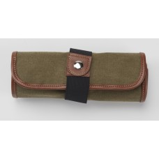 Canvas 36 Pencil Roll Up - Olive
