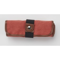 Canvas 36 Pencil Roll Up - Rose