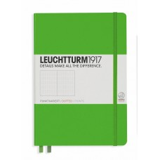 Medium Dotted Fresh Green Hardcover