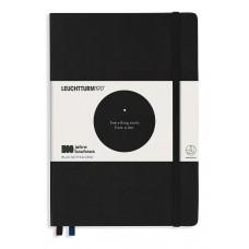 Medium Bauhaus Dotted Black Hardcover