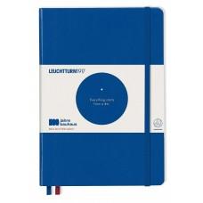 Medium Bauhaus Dotted Royal Blue Hardcover