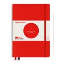 Medium Bauhaus Dotted Red Hardcover
