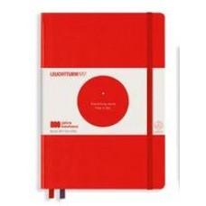 Medium Bauhaus Dotted Red Hardcover