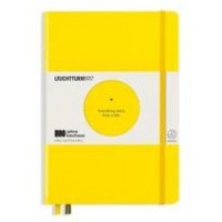 Medium Bauhaus Dotted Lemon Hardcover