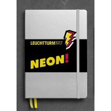 Medium Dotted Neon Yellow Hardcover