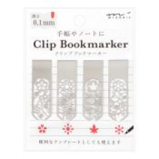 Clip Bookmarker - Flower