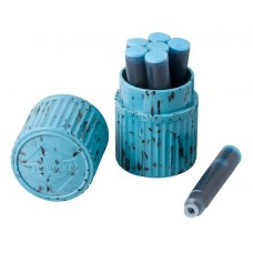 Turquoise, 7 cartridge container