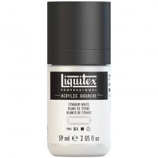 Acrylic Gouache 59ml - Titanium White