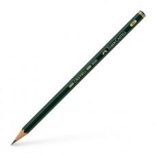 Castell 9000 Artist Grade Blacklead Pencil - 4H