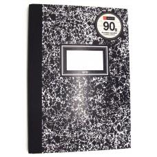Mottled Black A5 Lined Notebook