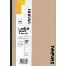 Layflat Visual Journal A4 Beige