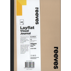 Layflat Visual Journal A5 Beige