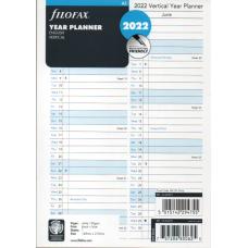 A5 Year Planner Vertical 2022