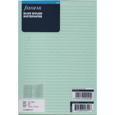 A5 Blue Ruled Notepaper Refill