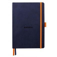 Rhodiarama Goalbook A5 Midnight