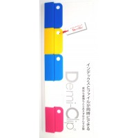 Demi-clip 5 Pack Assorted Pink