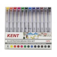 12pc Brush Pen Set
