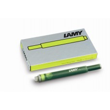 Lamy Charged Green T10 Ink Cartridges 5 Pack (Limited Edition)