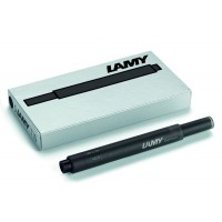 Lamy Black T10 Ink Cartridges 5 Pack